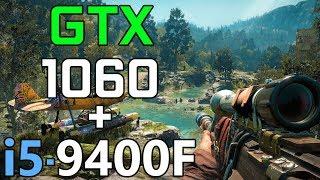 I5 9400F GTX 1060 6GB Test In 13 Games