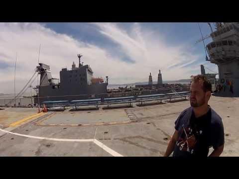 USS hornet por dentro e passeio com meu irmão e esposa - Parte 2