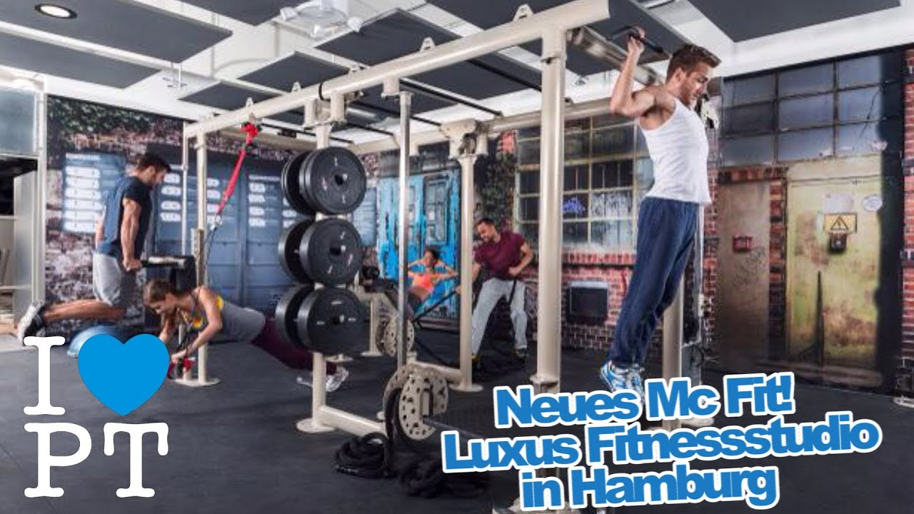 Neues McFit   Luxus Fitnessstudio In Hamburg!