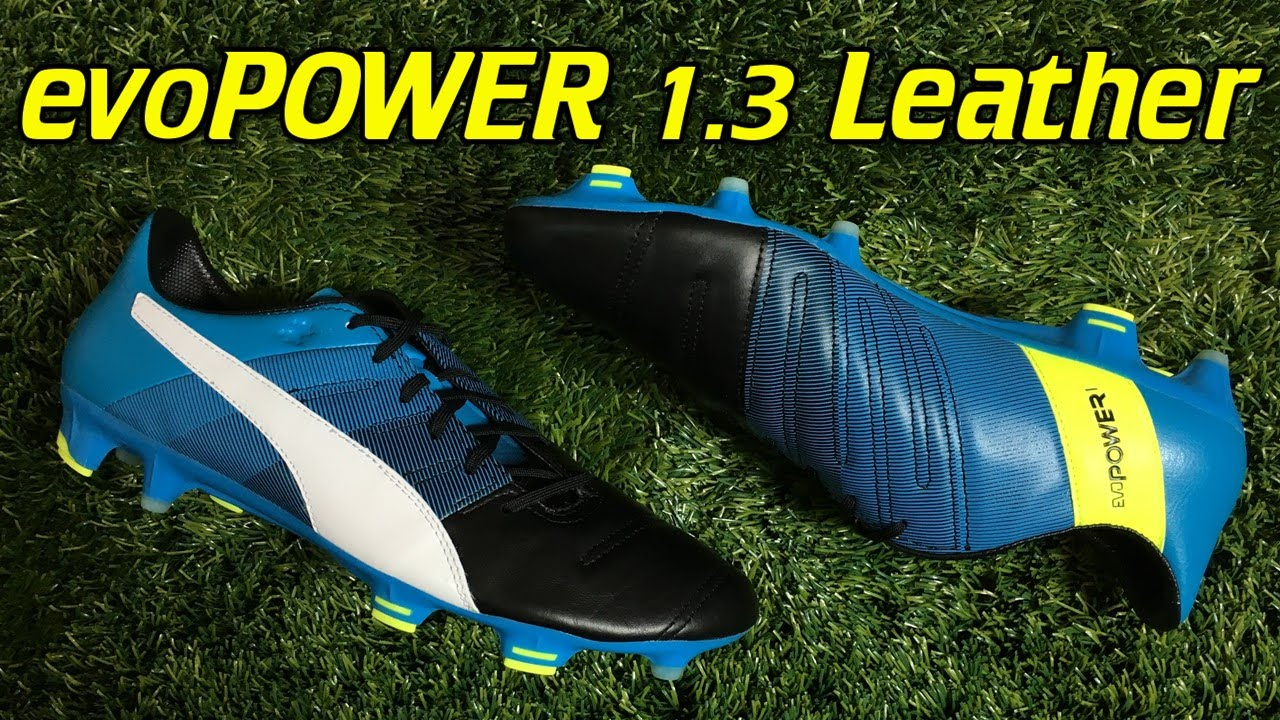 b25cad6aa0d8 Puma evoPOWER 1.3 Leather Black Atomic Blue White - Review + On Feet ...
