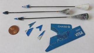 How to Make Deadly Broadheads for your Blowgun