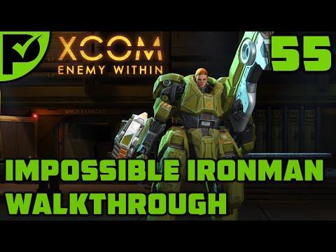 MEC & S.H.I.V. - XCOM Enemy Within Walkthrough Ep. 55 [XCOM Enemy Within Impossible Ironman] |