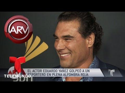 Escándalo: Eduardo Yañez golpeó a un reportero | Al Rojo Vivo | Telemundo