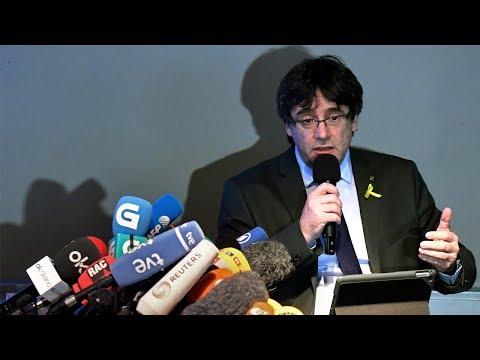 Compareixença de Carles Puigdemont des de Berlín