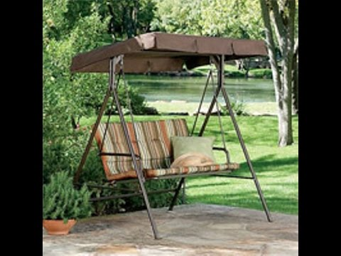 Jc Penney Patio Swing Cushions Seat Support And Canopy