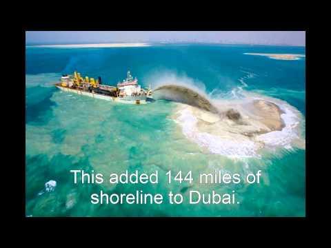 The Artificial Islands of Dubai!