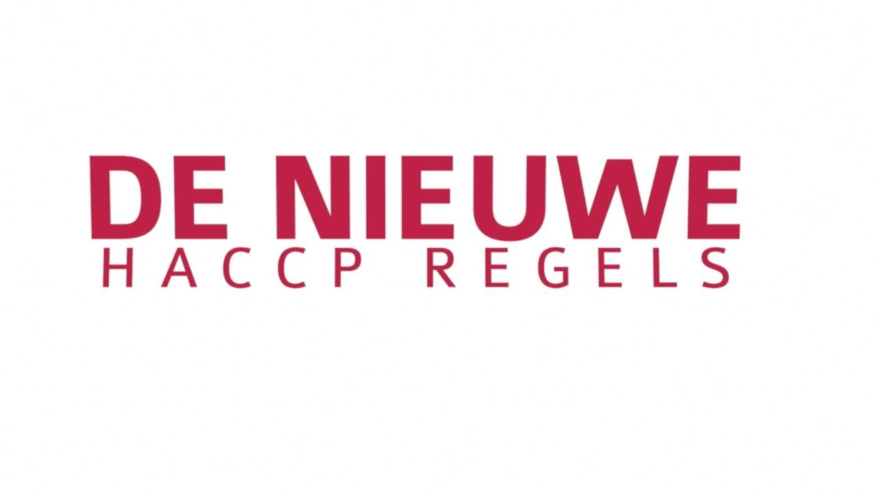 De nieuwe HACCP regels - YouTube