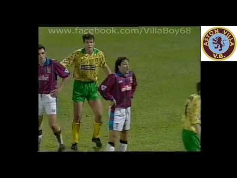 Norwich City 1 Aston Villa 2 - FA Premier League - 29 December 1993