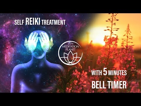 Reiki 12 Basic Hand Positions for Self Healing with 5 Minutes Timer
