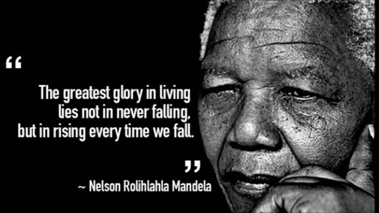 Quotes Nelson Mandela Nelson Mandela 19182013  Quotes  Youtube