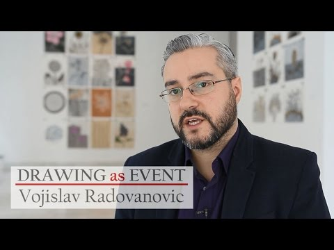 American art: Contemporary art DRAWING as EVENT / Vojislav Radovanovic / interview in English
