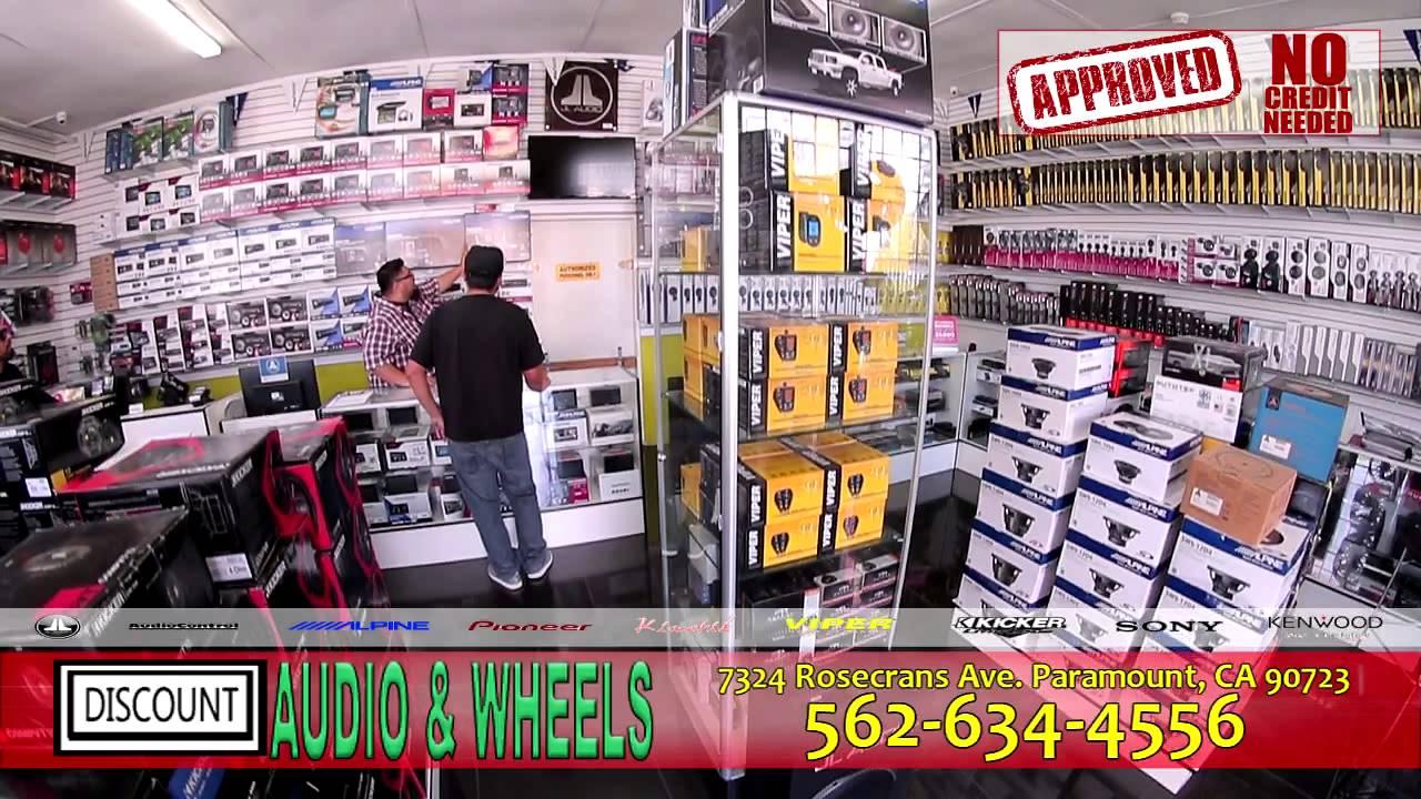 DISCOUNT AUDIO & WHEELS commercial espanol