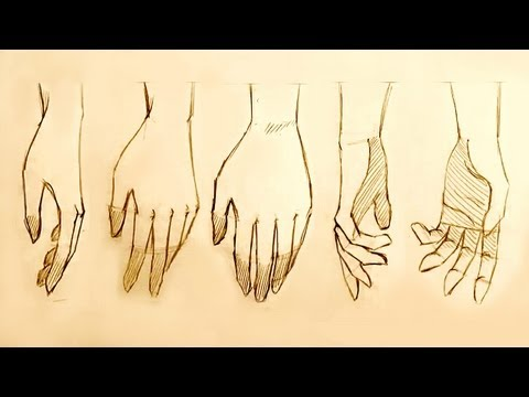 How to Draw Relaxed Hands, 5 Ways