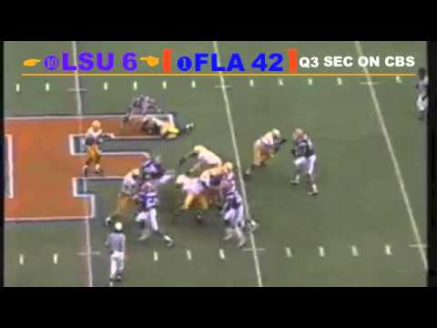 1996 #1 Florida Gators vs. #10 LSU Tigers