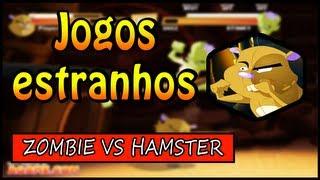 O JOGO MAIS ESTRANHO DA INTERNET ZOMBIE VS HAMSTER