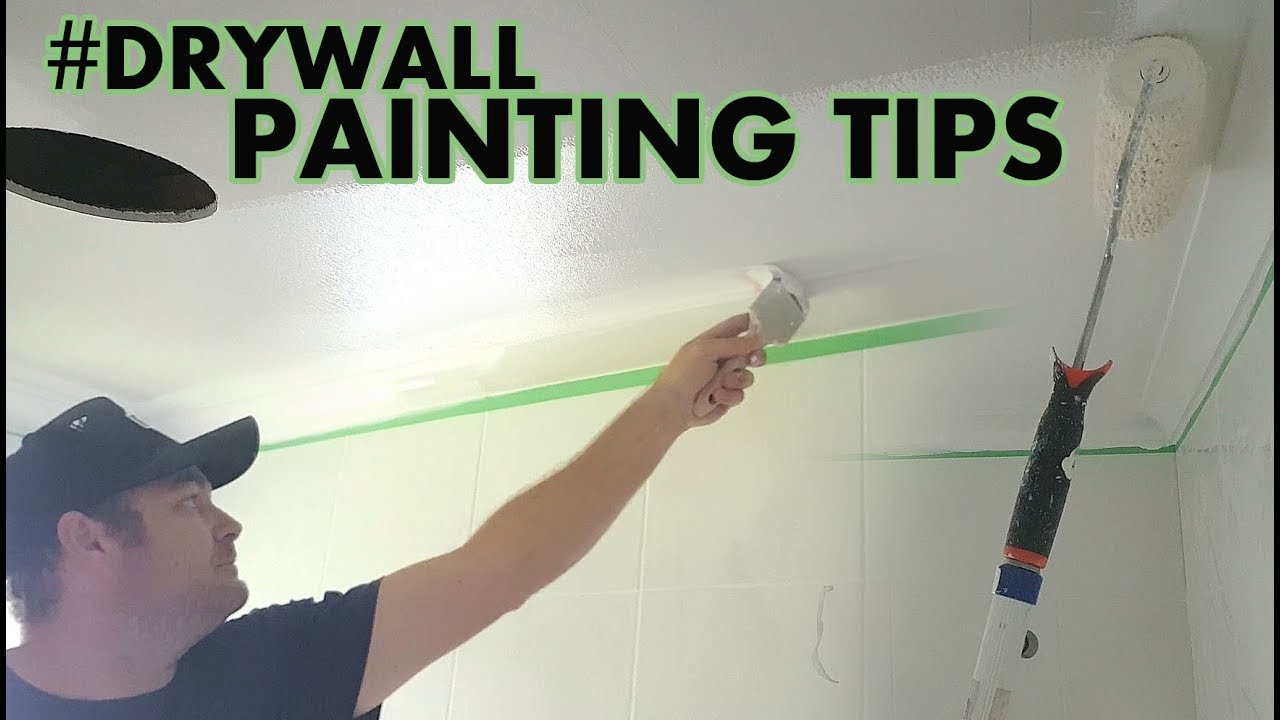 Drywall Ceiling With Painting Tips