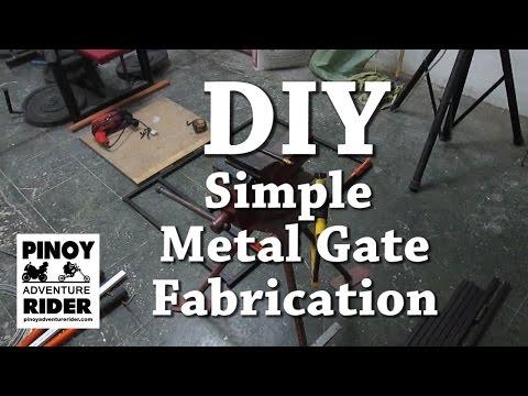 DIY Metal Gate Fabrication