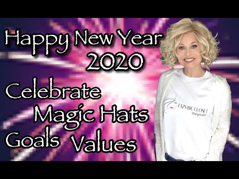 HAPPY NEW YEAR 2020! | JOIN ME To CHAT & Celebrate WIG LIFE | MAGIC HATS?! | Goals | Values