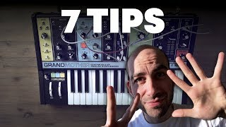 My 7 Patch Tips for Moog Grandmother