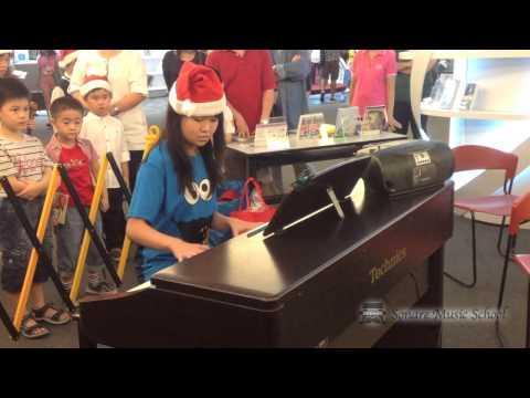 Sonare Christmas Performance @ Sengkang Library by Bernice Ong