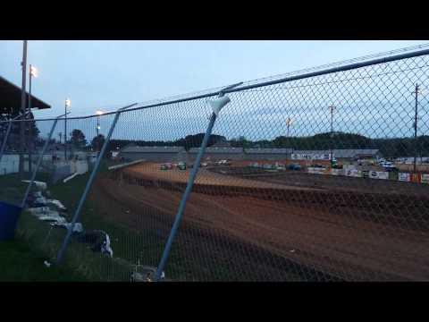 Roll over Hibbing Raceway May 2015