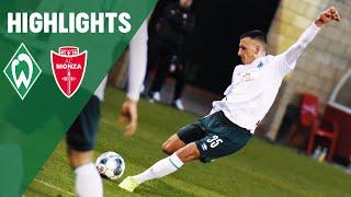 Maximilian Eggestein Traumtor & Stefanos Kapino Glanztat | SV Werder Bremen - AC Monza 2:2
