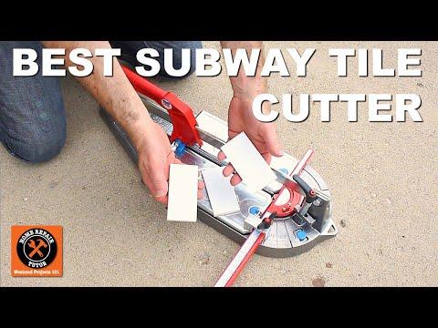 Best Tile Cutter For Subway Tile