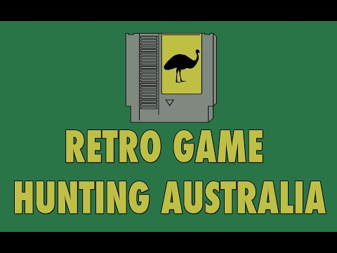 RETRO VIDEO GAME HUNTING PERTH AUSTRALIA