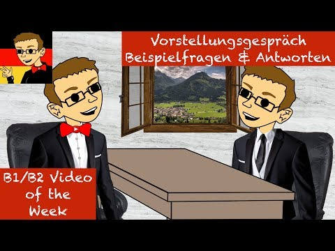 Intermediate German #43: Job Interview Questions & Answers