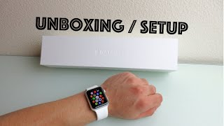 Apple Watch Sport Unboxing/Bootup