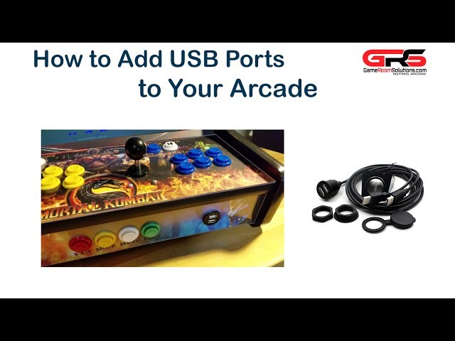 Adding USB Ports to Your Arcade