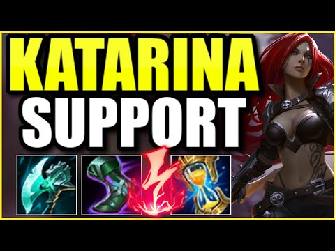 WAIT… IS KATARINA SUPPORT ACTUALLY GOD-TIER IN SEASON 11?! – League of Legends