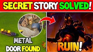 "*NEW* Fortnite Secret Storyline SOLVED! ""Digging for RUIN!"" (Season 8 Dig Site 3.0)"
