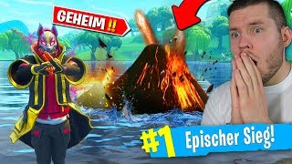 versteckter VULKAN in Fortnite!🔥