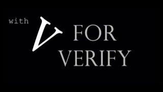 V FOR VERIFY