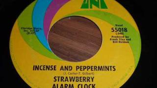 "Strawberry Alarm Clock ""Incense And Peppermints"" 45rpm"