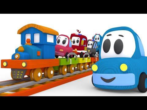 Приключения на поезде - КАПОТИКИ мультики для детей