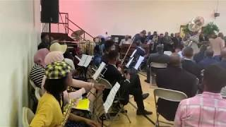 He's an On Time God - First Church Orchestra - April 20, 2019 (Fletcher)