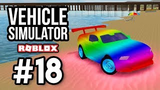 CUSTOM RAINBOW MUSTANG - Roblox Vehicle Simulator #18