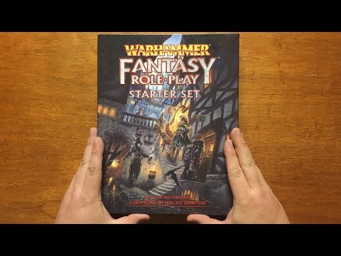 Bud's RPG Review - Warhammer Fantasy Roleplay Starter Set For 4th Edition By Cubicle 7