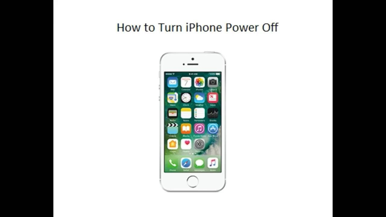 turn off iphone how to power switch turn iphone 3082