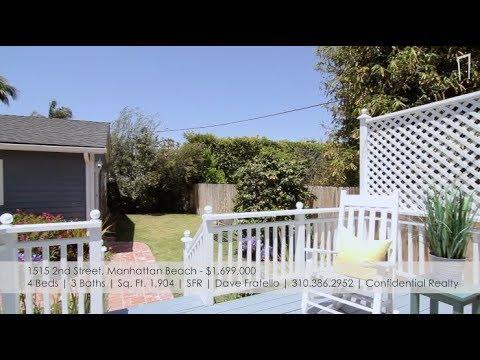 Manhattan Beach Real Estate  New Listings: June 23, 2018  MB Confidential