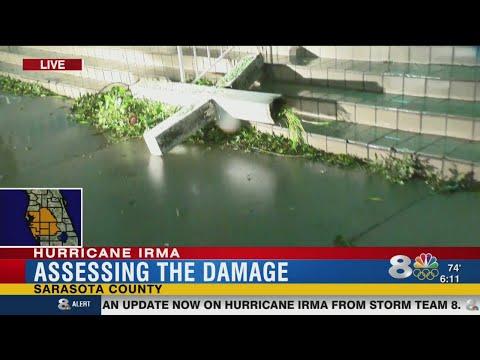 Hurricane Irma:  Sarasota Co. damage