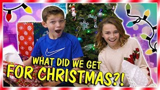 WHAT DID WE GET FOR CHRISTMAS? | 2017 | We Are The Davises