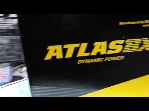 Обзор АКБ ATLAS BX для KIA RIO