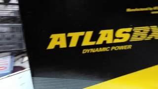ATLAS umumiy tasavvur KIA RIO uchun batareya BX