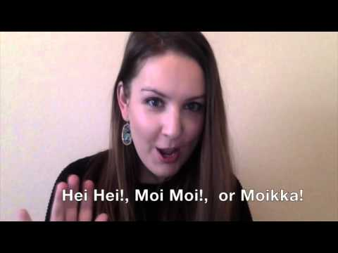Learn Finnish With Me - The Most Useful Finnish Words for Travelers