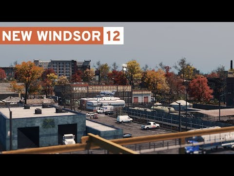 Cities Skylines: New Windsor - 12 - The Harbor!