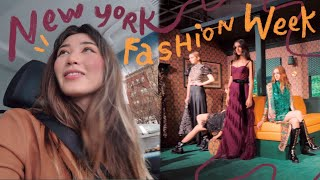 i went to New York Fashion Week ahhhhhh