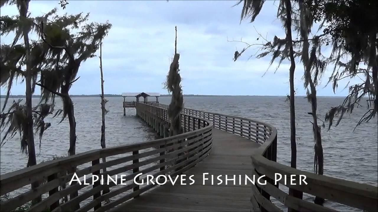 Alpine groves fishing pier st johns river st johns for St augustine fishing pier